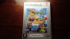 The Simpsons Hit And Run (Sony Playstation 2, PS2) & Car Racing Platinum