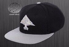 New LRG Spring Training Black Mens Snapback Cap Hat