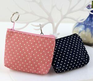 Women Coin Purse Wallet Card Holder Key Change Bag Mini Pouch Cute Gift New