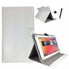 "10 inch Case Cover Book For HUAWEI MediaPad M2 Premium Tablet - 10"" White"