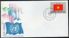 United Nations 1980 - New York - Viet Nam - Flag - FDC