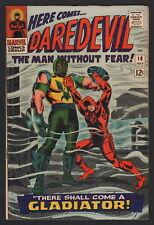 DAREDEVIL - LOT OF 3... #18, #19, #21, Marvel, 1966, AVG GRADE F/VF TO VF