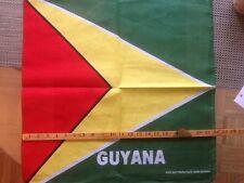 Guyana Flag Bandana--wrist wrap--do rag