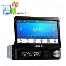 "7"" Touch Screen Single DIN Android 5.1 Head Unit Car Radio GPS SAT NAV DAB+ WiFi"