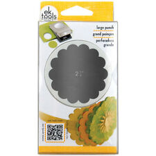 EK tools 2.25-Inch Scallop Circle Punch, Large, New Package
