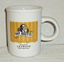 """Van Houtte Mug Cup Taste Of Europe Vtg Advertising 3.75"""""""