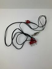 Absolute Fencing Foil Electric Body Cord (Black / Red Color)