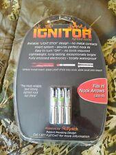 "Ignitor lighted arrow H nocks for .233"" I.D. shafts"