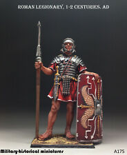 Roman legionary Tin toy soldier 54 mm figurine metal sculpture HAND PAINTED