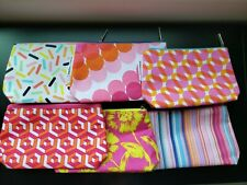 Lot of 6 NEW Clinique Cosmetic Makeup Bags pouches