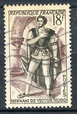 TIMBRE FRANCE OBLITERE N° 944 THEATRE FRANCAIS HERNANI