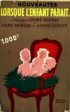 """Affiche Originale """" LORSQUE L'ENFANT PARAIT...40 X 60"""