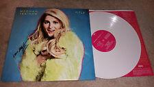Meghan Trainor Title autograph signed LP album White vinyl