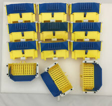 Rokenbok Factory Replacement Parts Rock Ball Collectors Chutes & Hoppers Blue
