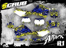 SCRUB Husqvarna CR 125 250 2000 - 2004 '00 '04 Grafik Dekor-Set