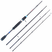"7'9"" Spinning Rod Graphite Fishing Rod 4Pieces saltwater Rod"