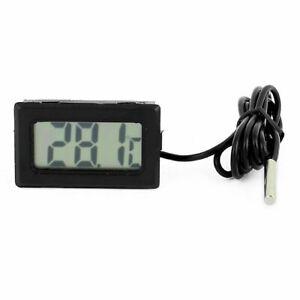 2x LCD Digital Thermometer + 4x Batteris and Probe fridge freezer cooler chiller