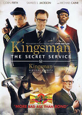 Thriller - Kingsman: The Secret Service (DVD, 2015) (Bilingual) Action Drama