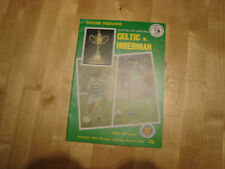 Hibernian Football Scottish Fixture Programmes (1980s)