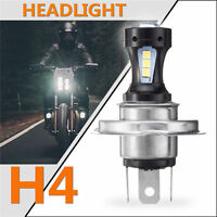 For Motorcycle Motorbike H4 6500K LED Hi/Lo Beam Headlight Front Light Bulb Lamp