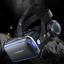 360° VR Headset Goggles 3D Glasses Virtual Reality Headset for Mobile Phone UKCZ