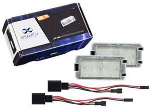 LED Kennzeichenbeleuchtung Seat Ibiza 6L 2601