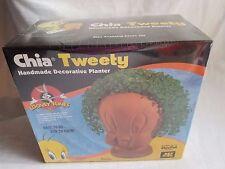 2011 Looney Tunes Chia Pet Tweety Bird Decorative Planter New In Box