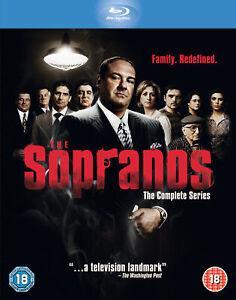 The Sopranos - Complete Collection (Blu-ray) James Gandolfini, Lorraine Bracco