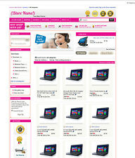eBay Professional Design Listing Template and Store Layout Theme purple, nice
