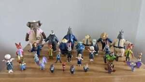 Disney Tomy Zootropolis HUGE Character Figure Bundle - 30 Pieces