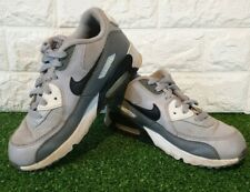 Nike Air Max UK Size 2 EUR Size 35 White & Grey Womens / Kids trainers Good used