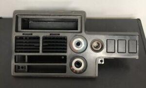 86-93 MAZDA B2000 B2200 B2600 B2600i Center dash piece USED NICE COMPLETE NICE
