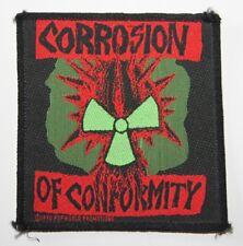 Corrosion of Conformity , Patch , Vintage 1990 , rar , rare