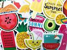 50 Happy Summer Themed Stickers Scrapbooking Journal Skin Watermelon Decals