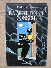 "DODO & BEN RADIS - GOMINA T1 ""LA NUIT PORTE CONSEIL"" - HUMANOIDES ASSOCIES 1983"