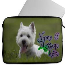 Laptop Cover WEST HIGHLAND TERRIER DOG Neoprene Sleeve Case Universal ST343