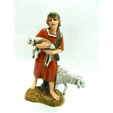 Pecoraio con pecore Costumi Storici Landi Cm 10 - Buon Pastore Pastori Presepe