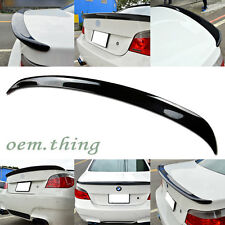 PAINTED For BMW E60 5 SERIES A BOOT TRUNK SPOILER M5 535i 550i 520d 530xd 523i