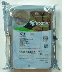 10TB Seagate Exos X16 ST10000NM001G HDD 7200RPM Nuovo,Saldato