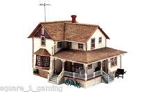 WOODLAND SCENICS BR5046 HO CORNER PORCH HOUSE NISB