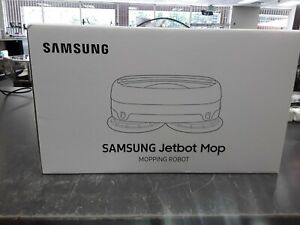 New Sealed Samsung VR6000TM Jetbot Mop Robot w/Dual Spinning Technology White