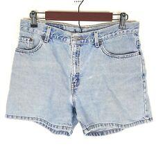 Levi's Juniors Vintage High Waisted Jean Denim Shorts Mom Jeans Size 13