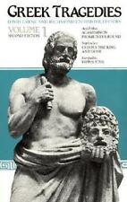 NEW - Greek Tragedies, Volume 1 by Aeschylus; Sophocles; Euripides