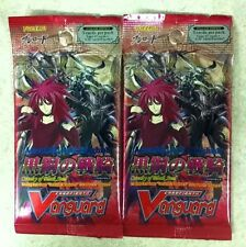 2X Cardfight Vanguard Cavalry of Black Steel Extra Booster Pack ENGLISH  5-cd/pk