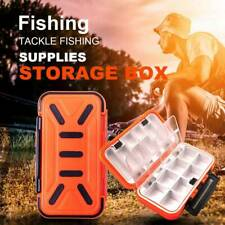 16 Caja de pesca a prueba de agua caja de accesorios de gancho aparejo de p Q2V2