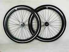 NOLOGO black Single Speed wheelsets Fixed Fixie 700c flip-flop hub Wheelsets b
