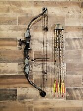 Pse Archery Polaris Rh Compound Bow 30�, 45-60# with arrows, quiver and release