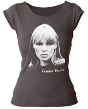 Nico-Femme Fatale-Girl's Junior Large Raw Edge Cut Neck/Sleeves T-shirt