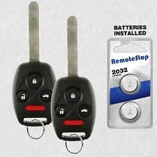 2 For 2008 2009 2010 2011 2012 Honda Accord Coupe Keyless Remote Car Key Fob