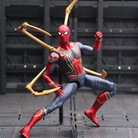 USA Marvel Spider Man Iron Spider Avengers Infinity War 7'' Action Figure Toy
